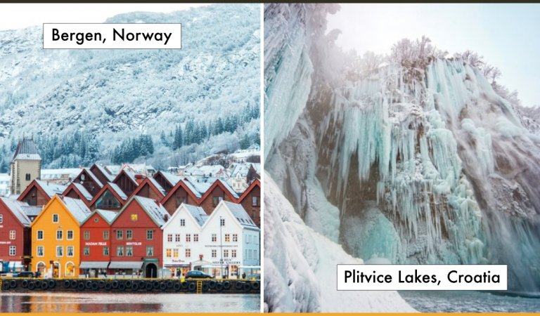 15 Divine Winter Locations Around The World That Transforms Into Icy Paradise