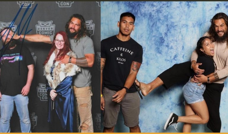 Jason Momoa Clicks Picture With His Female Fans By Pushing Their Husbands Away