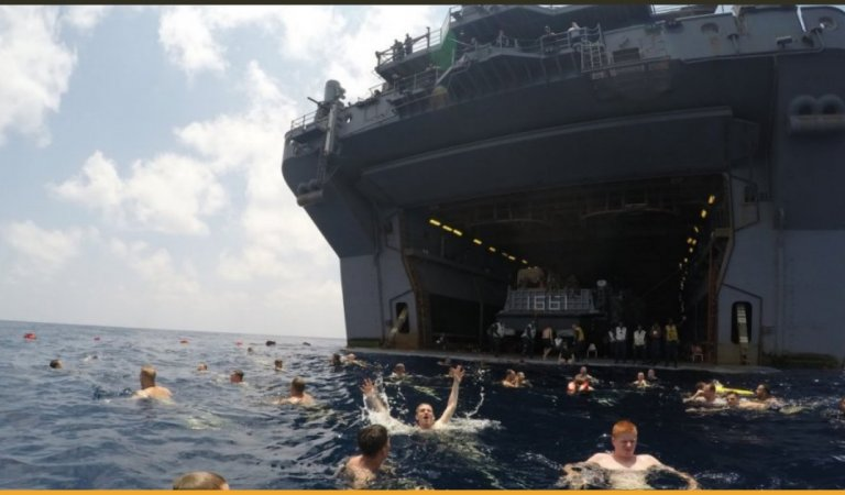 Pictures That Portray The Amusing Life That US Navy And Marine Corps Live
