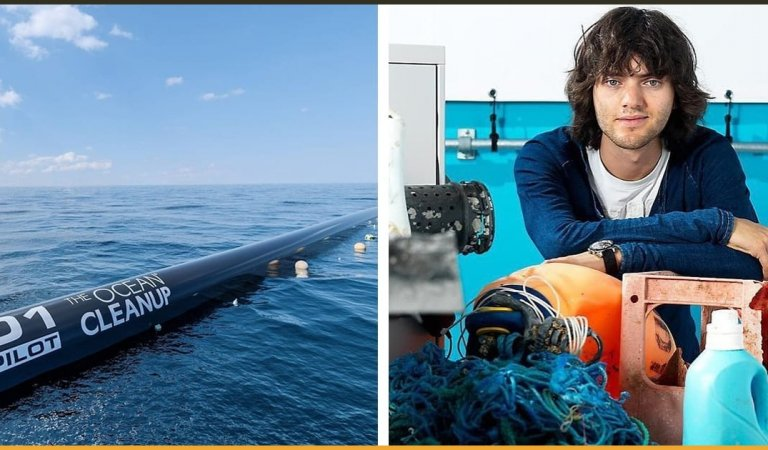 Turns Out That The Genius 18-Year-Old Kid Who Said That He Could Get The Ocean Clean Itself Was Right