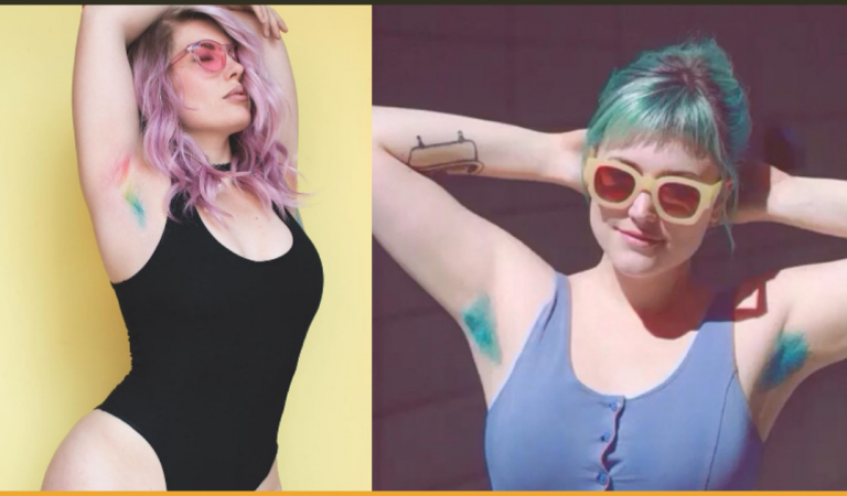 Unicorn Armpit Hair Is The New Trend To Look Out For