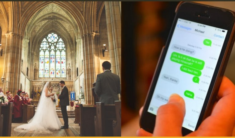 Bride Read All Cheating Messages Of Groom And Not The Wedding Vows