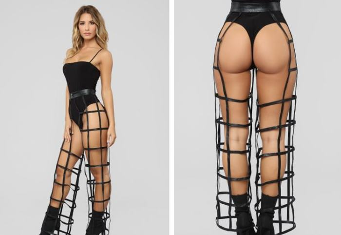 Fashion Brand Launched Cage-Theme Trousers