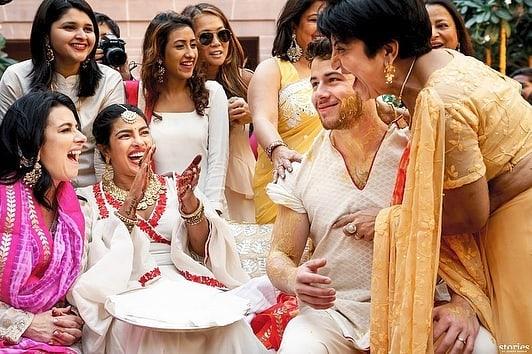 Priyanka Chopra, Nick Jonas, Haldi Ceremony