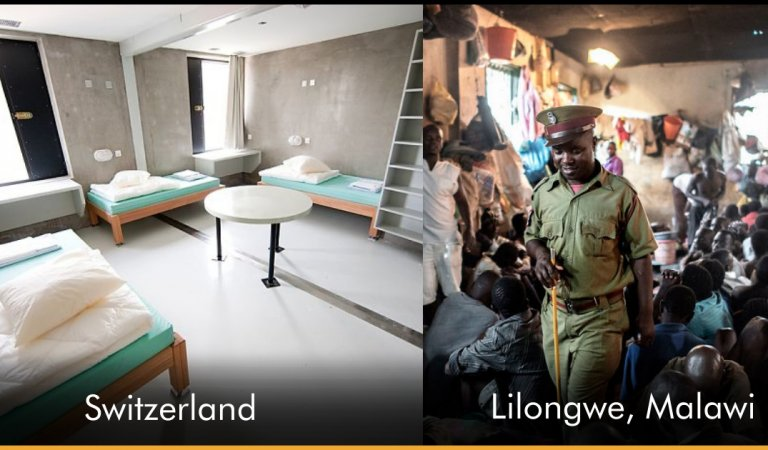This Is How Prison Looks Like In Different Countries!