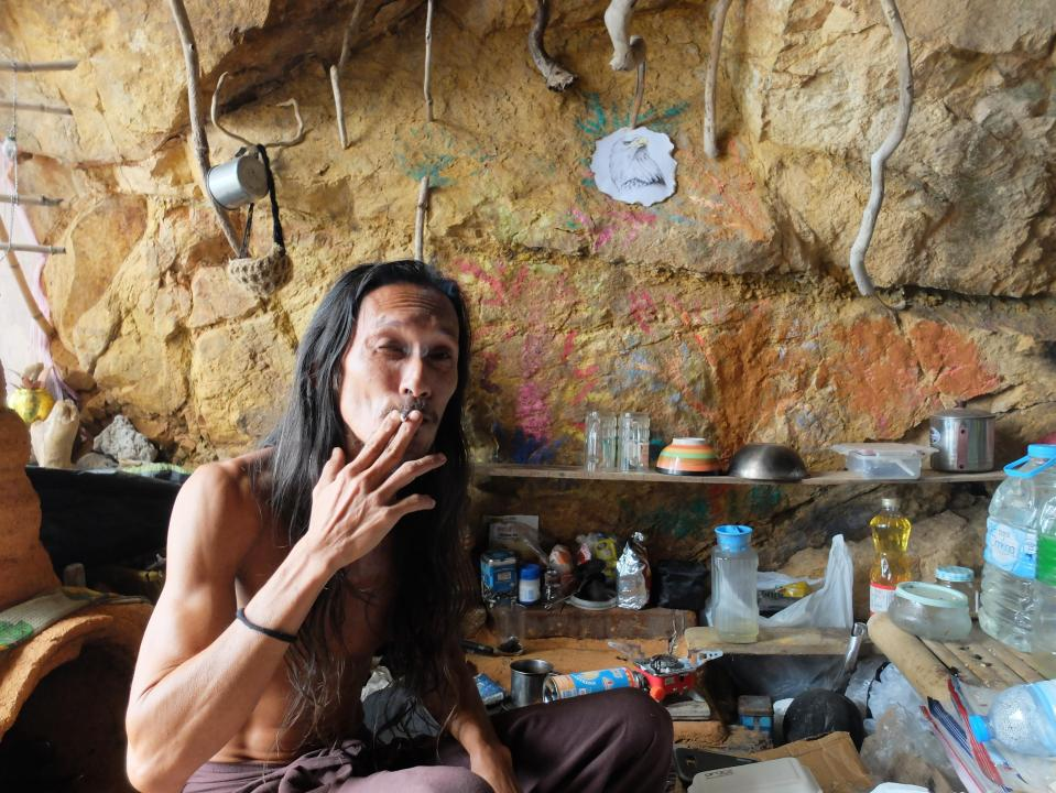 This Caveman Won The Heart Of A Russian Woman And Made Her Visit His Cave