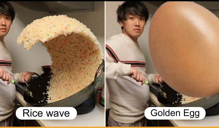 A Photo Of Giant Rice Wave Turned Into Funny Photoshop Battle