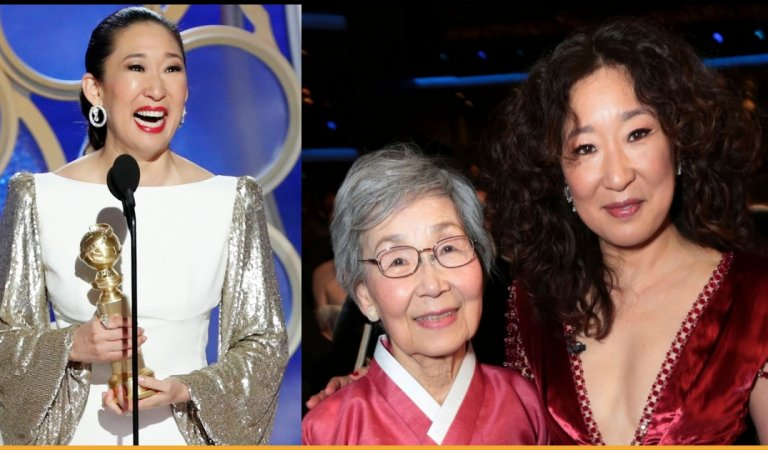 Sandra Oh Thanks Her Parents In Korean During Golden Globes 2018