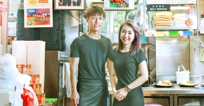 Man Finds Soulmate After Eating at hawker stall