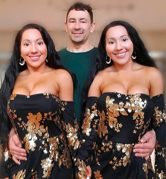 'World's Most Identical Twins' Share The Same Boyfriend And Wants To Get Pregnant With Him Simultaneously