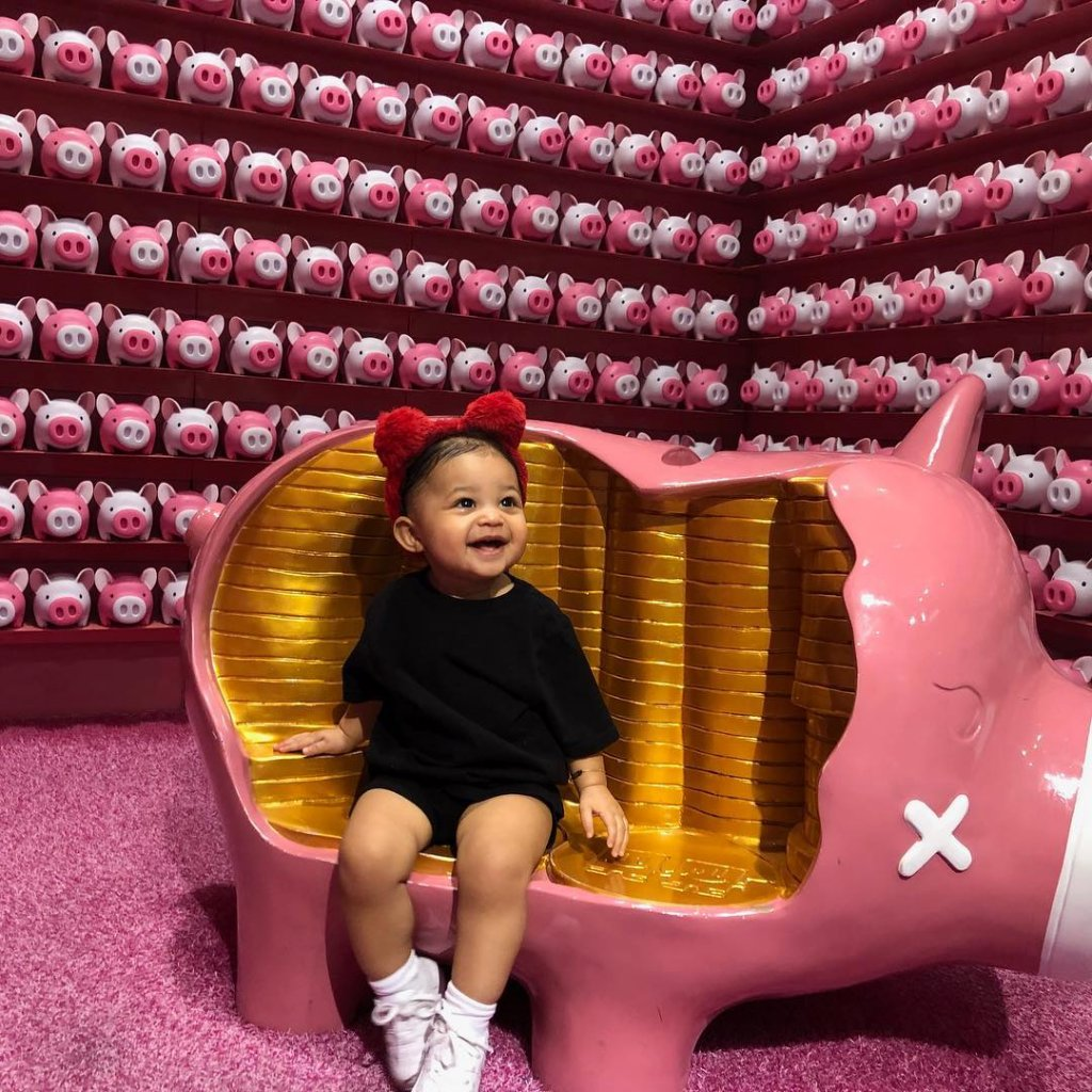 Kylie Jenner's Daughter Stormi Webstar Turns One!