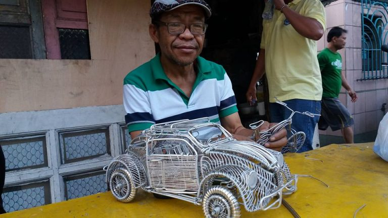Filipino Driver Who Can Create Amazing Masterpiece With Aluminium