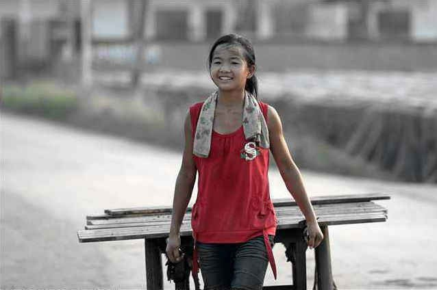 Teenage Orphan Seek To Smile Even After Working In Adverse Conditions To Earn For Her Grandparents
