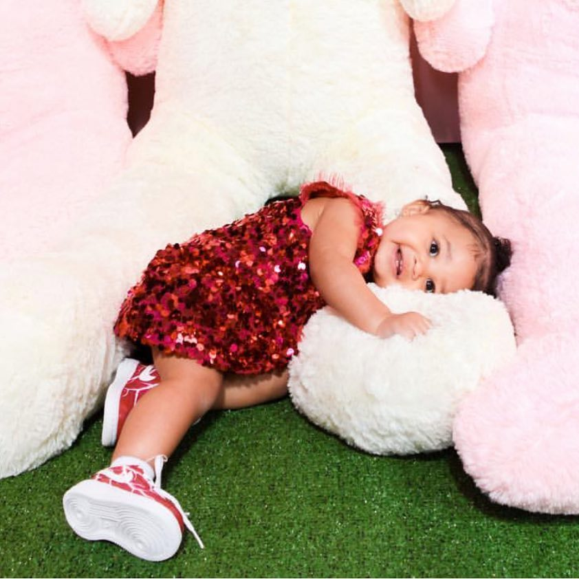 Heart Melting Photos Of Kylie Jenner's Daughter's First Birthday party