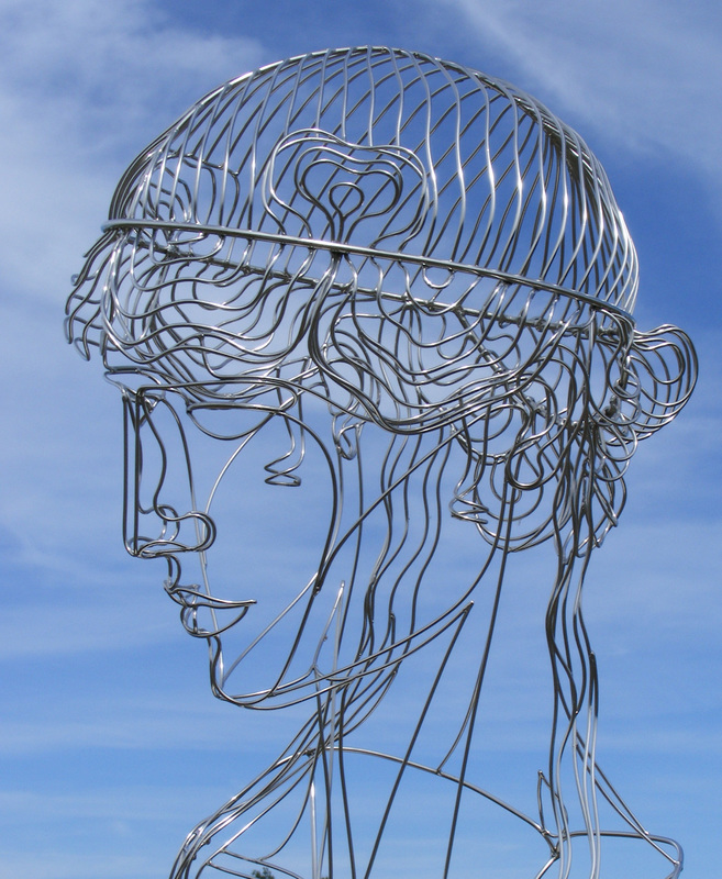 Artist Creates Beautiful Sculptures Twisting Steel Wires