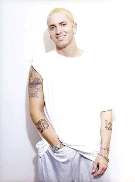 This Genius Photoshopped A Smile On Serious Eminem Making It More Commendable