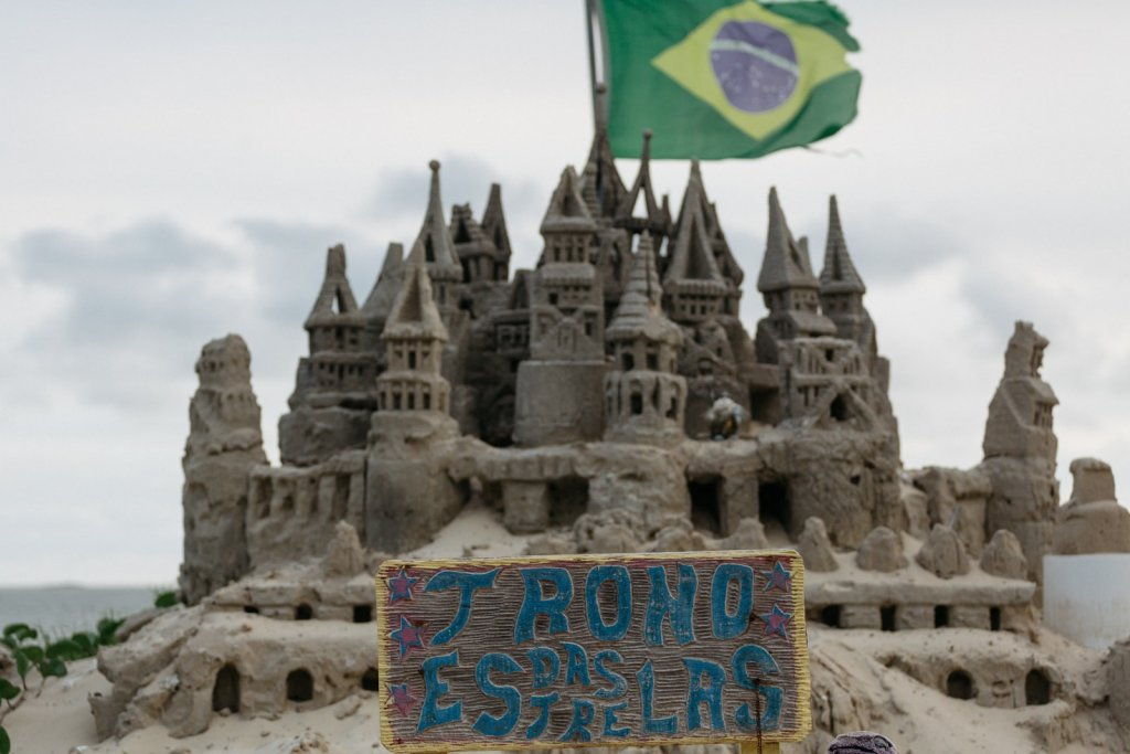 Meet The Brazilian Sandcastle King Marcio From Rio De Janeiro Who Avoided Rent For Two Decades