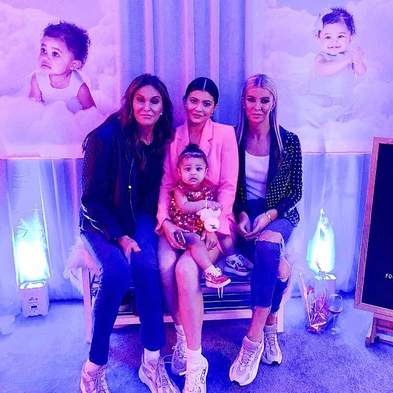 Heart Melting Photos Of Kylie Jenner's Daughter's First Birthday