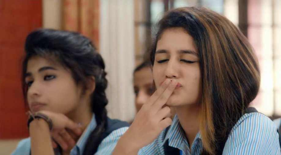 Winking Girl Priya Varrier Breaking The Internet Yet Again
