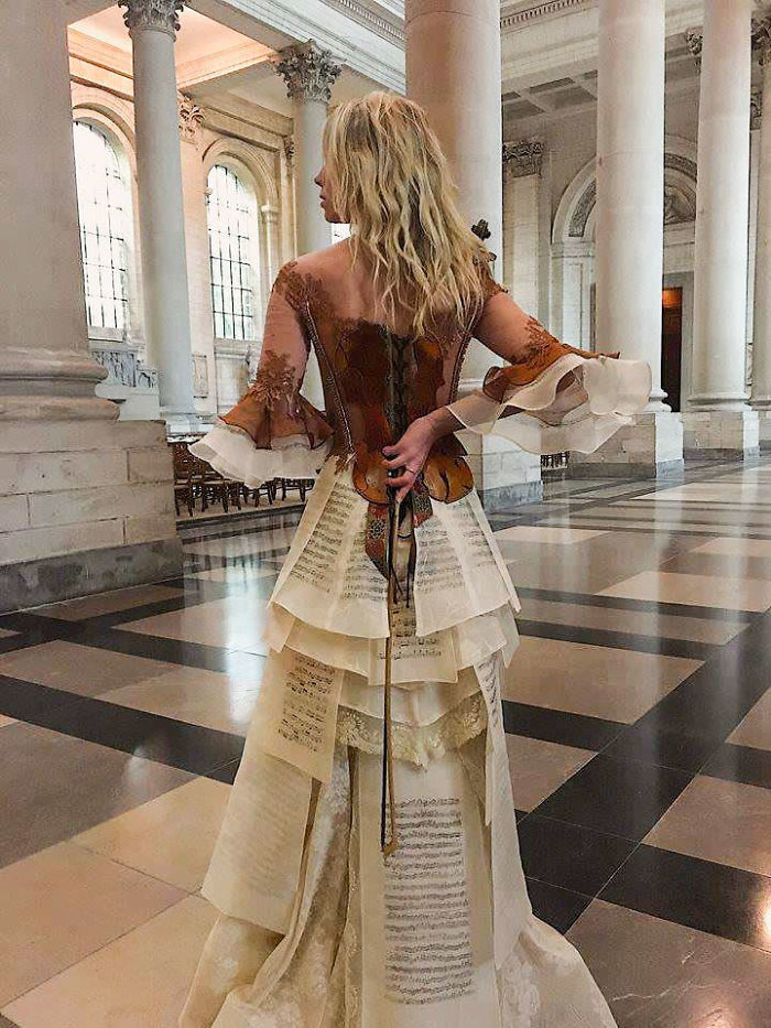 Designer From France Crafts Costumes