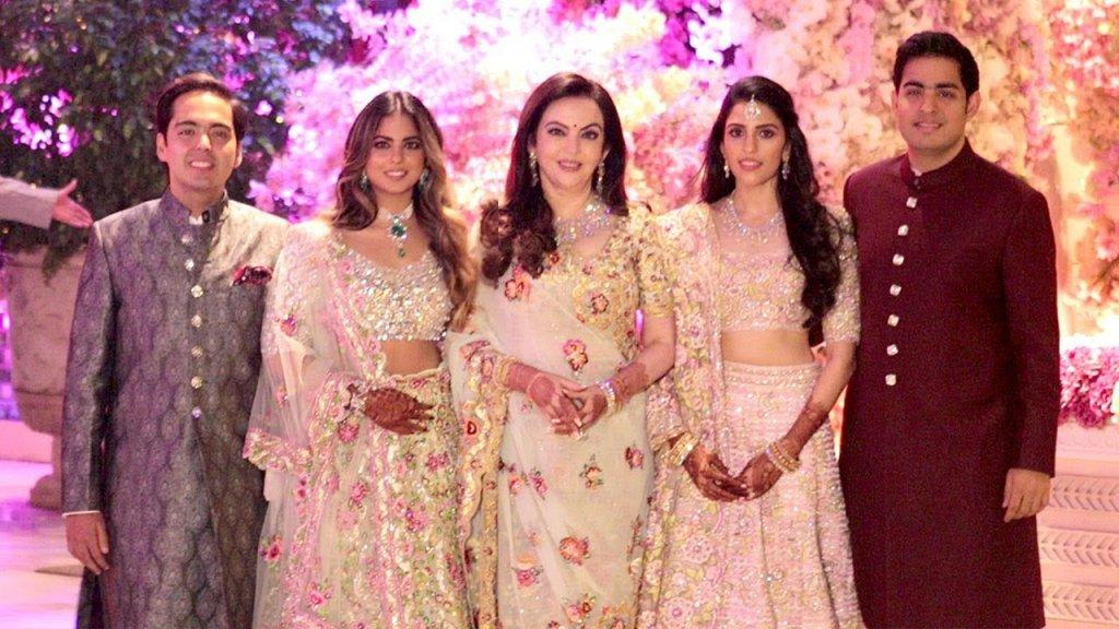 Shloka Mehta & Akash Ambani's Wedding Card
