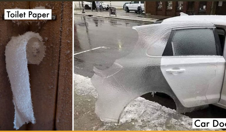21 Photos That Show The Freezing Cold Weather In The US