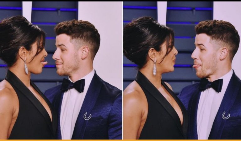 Priyanka Chopra And Nick Jonas Gets All Flirty At The Oscars After-Party