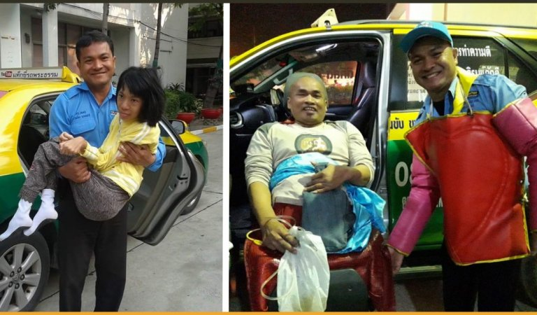 This Warm-Hearted Taxi Driver Helps People Who Cannot Afford The Expensive Ambulance Services