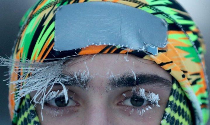 immense cold, Polar vortex, freezing cold weather
