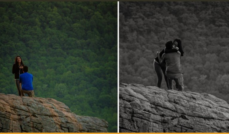 Photographer Captured The Proposal Of A Wrong Couple For 6 Hours