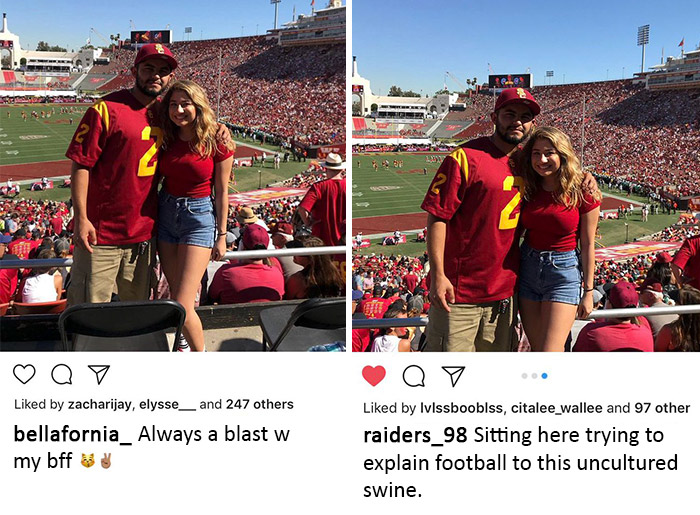 9 Couples Shared Same Pictures With Different Captions and The Result Is Hilarious