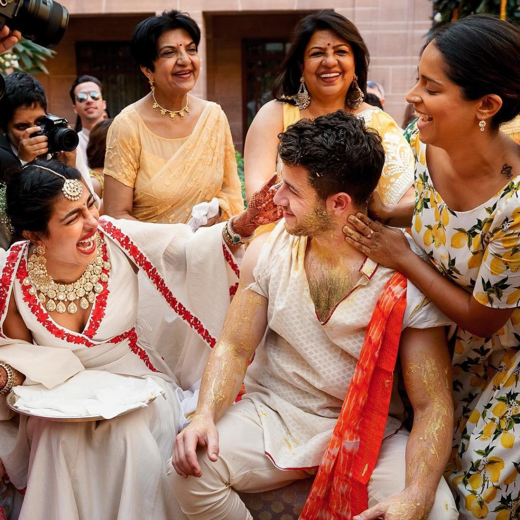 Superwoman, Lilly Singh Showed No Mercy To Nick Jonas During Haldi Ceremony, See Pics!