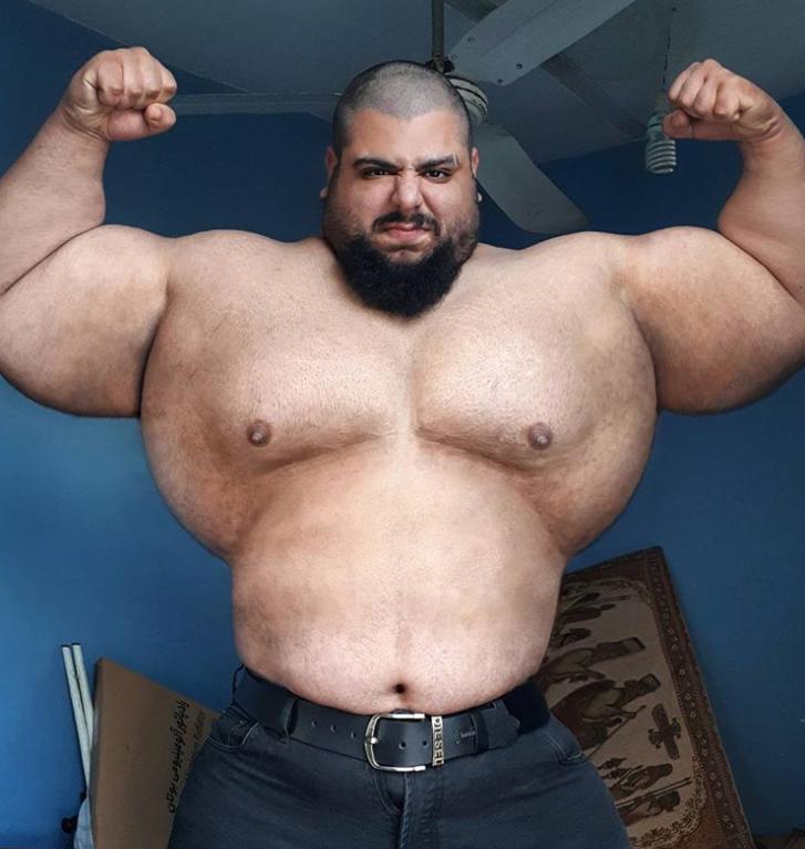 Here Is What This Iranian Hulk Eats To Look Like The Super Hero Hulk