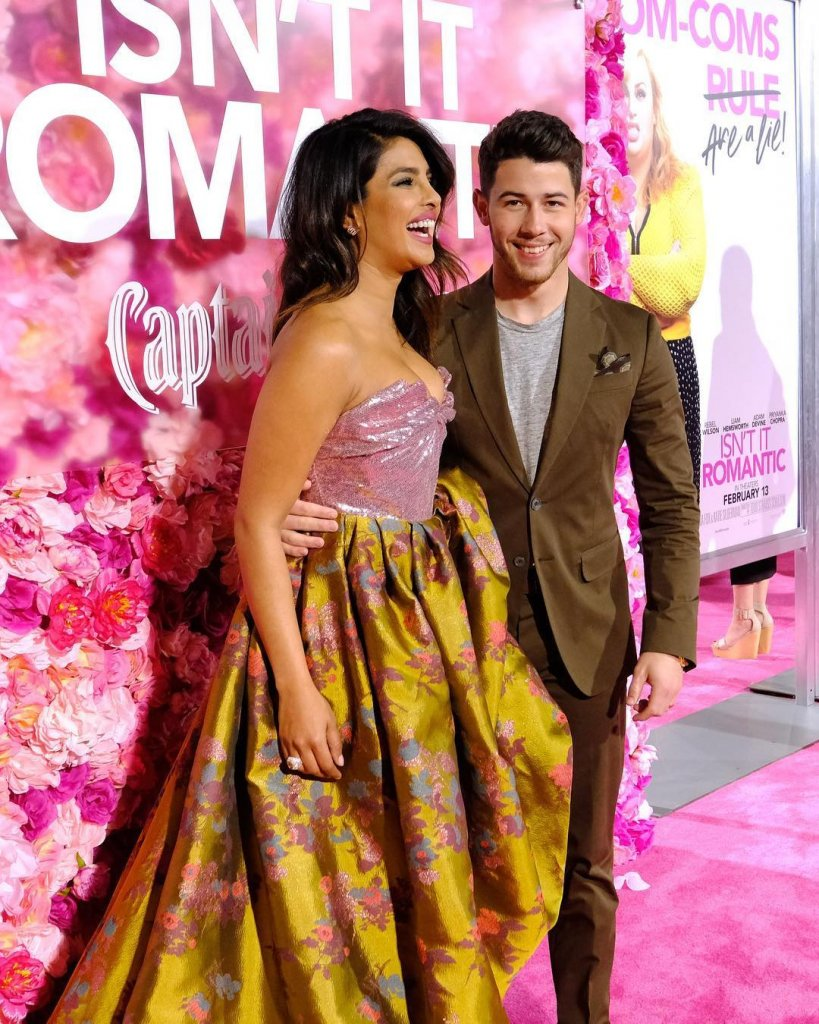 Priyanka Chopra And Nick Jonas Rocked The Red Carpet At The Premiere Of 'Isn't It Romantic'