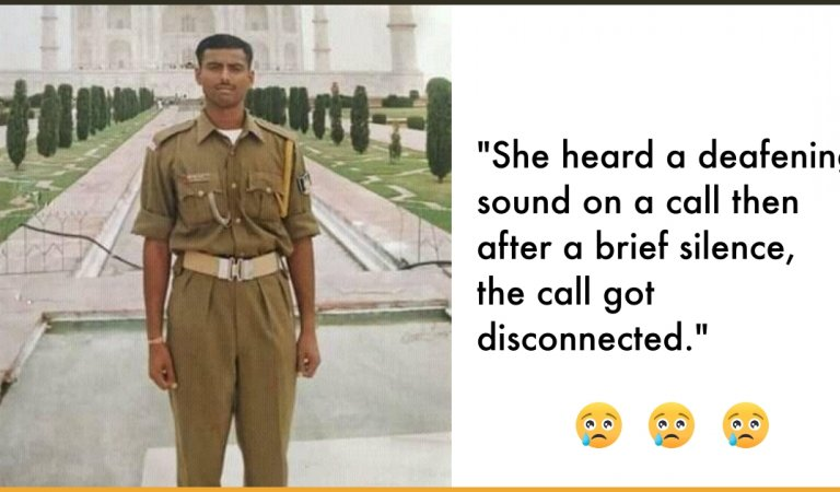 This Pulwama Martyr's Wife Was On The Call With Him When The Blast Happened