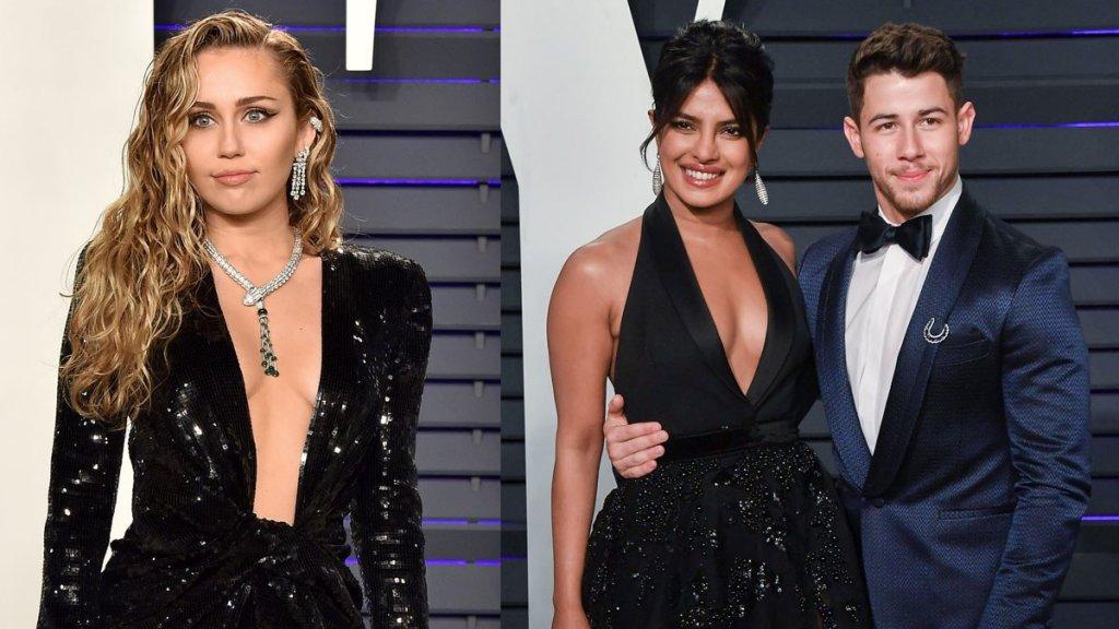 Miley Cyrus Shared Chat Screenshot With Ex Nick Jonas And Priyanka Chopra Reacted On Her Post