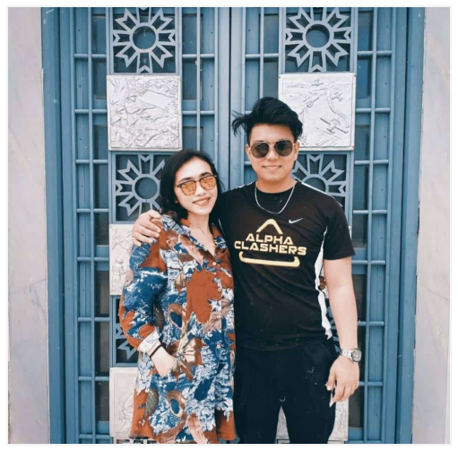 Aira and her boyfriend Ador seen on their social media pages