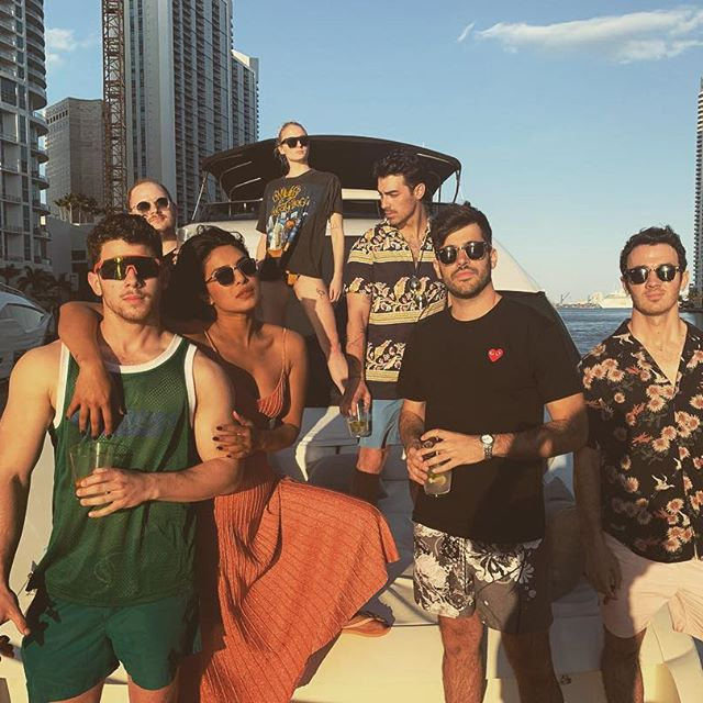 Seeing these pictures of Priyanka Chopra And Nick Jonas Enjoying In Miami Would Want You To Go For A Vacation Right Away