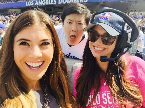 20 Times When Celebrities Photobombed Ordinary People And Their Fellow Stars
