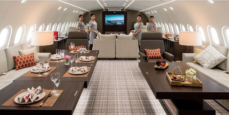 Boeing 787 Luxury Aircraft