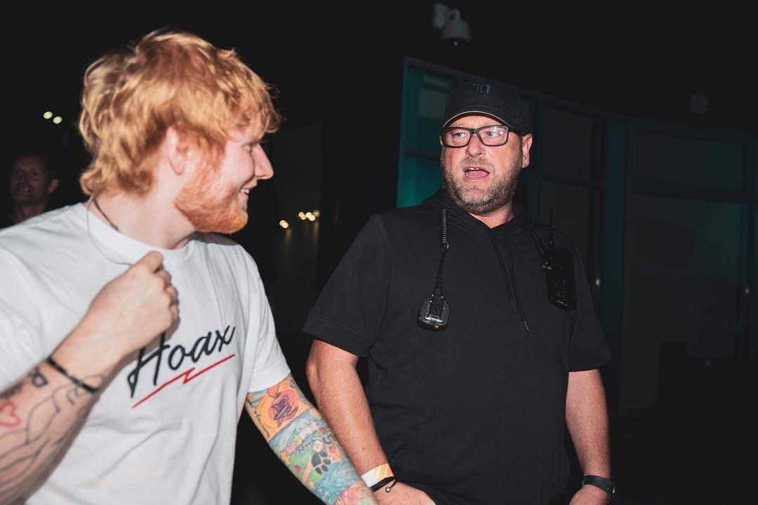 Ed Sheeran's Bodyguard Trolled Him By Posting His Pictures With The Wittiest Captions