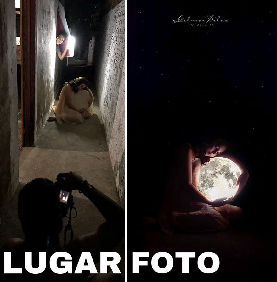 Photographer Reveals The Secret By Sharing The Backstage Of His Photos