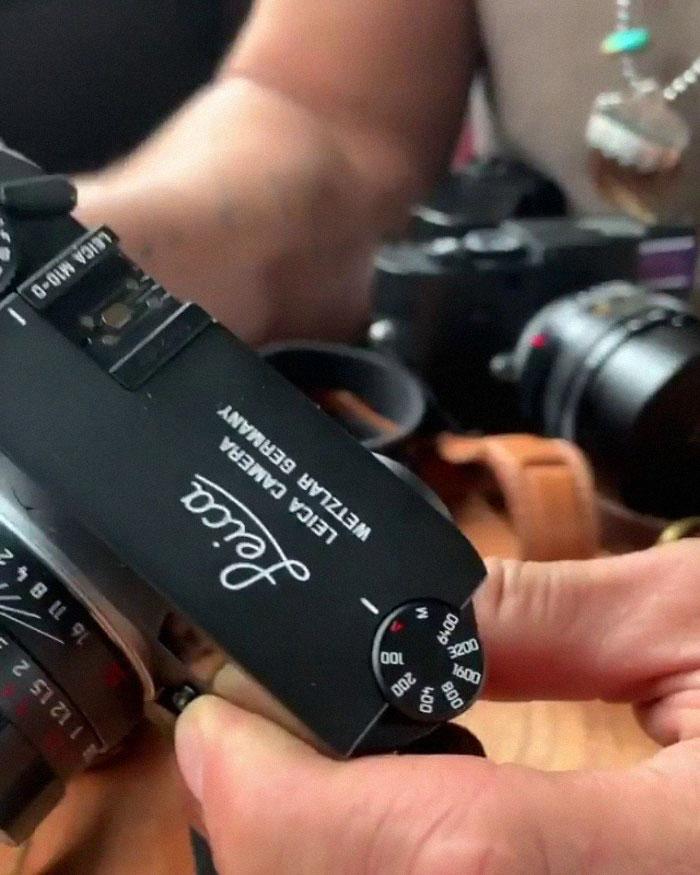 Jason Momoa camera collection.