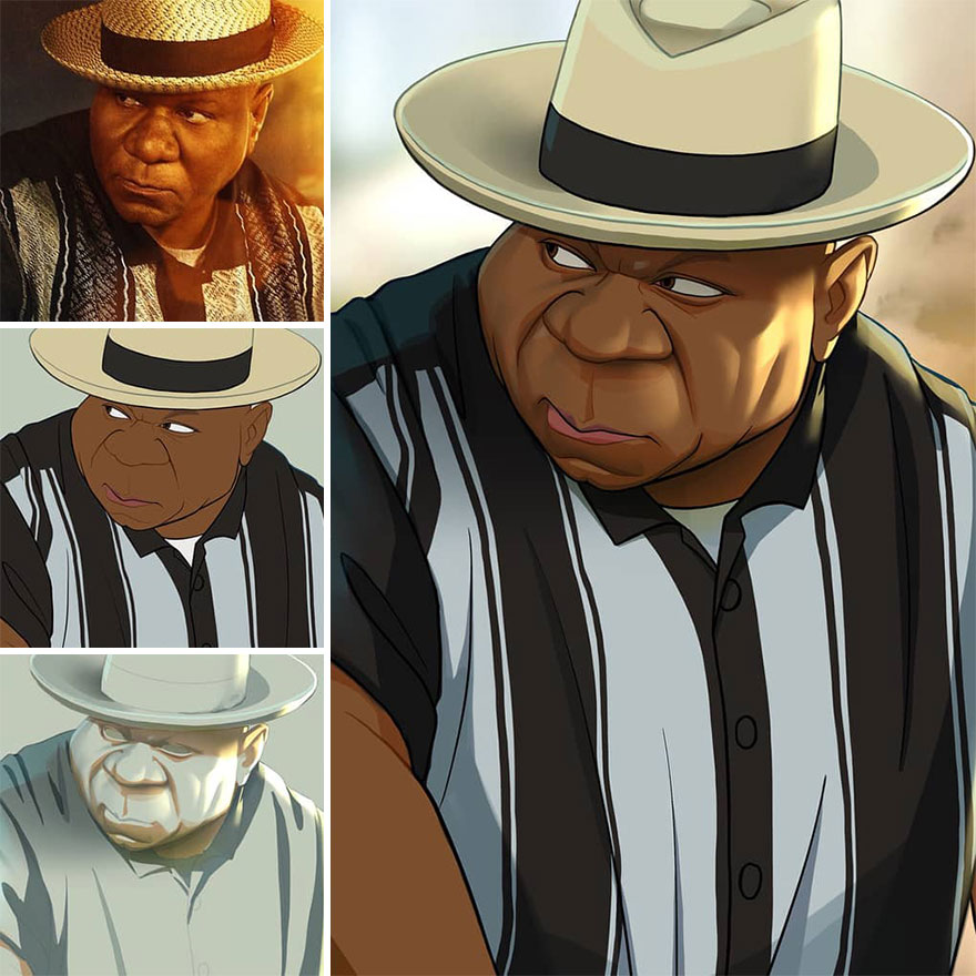Meet The Cartoon Character Likeness Specialist Who Transforms Famous Characters Into Cartoons