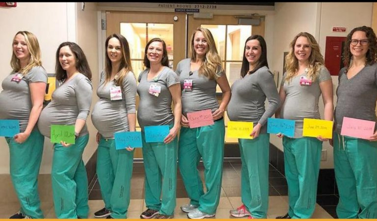 Baby Boom! 9 Delivery Nurses Of This Hospital Got Pregnant At The Same Time