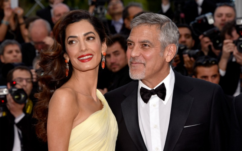 Amal and George Clooney with age gap of 17 years