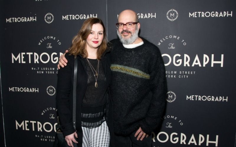 Amber Tamblyn and David Cross with an age gap of 19 years