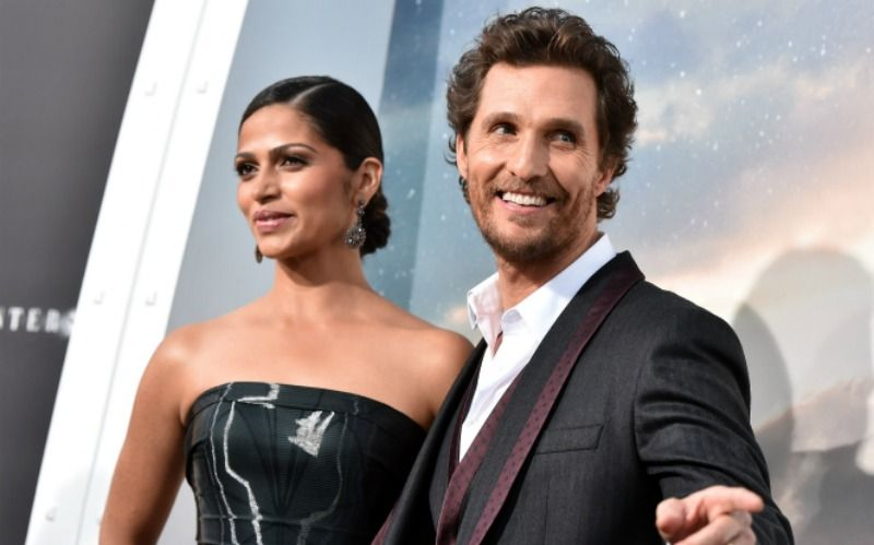 Camila Alves and Matthew McConaughey with an age gap of 13 years