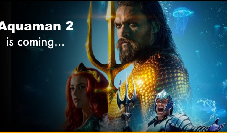 The Official Date For The Sequel Of  Aquaman Is Announced