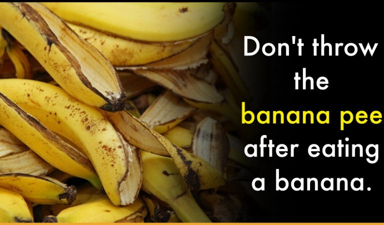 After Knowing These Amazing Uses Of Banana Peel, You Will Never Throw Them Away